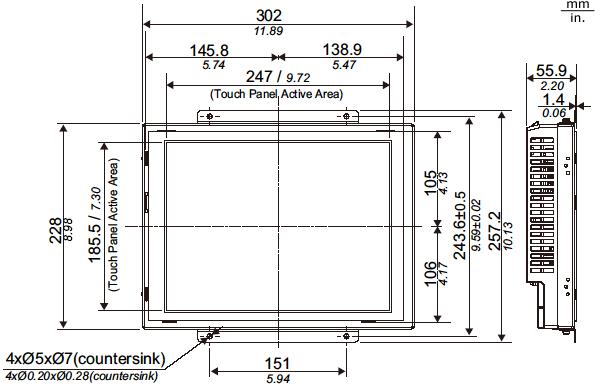 4601r_panel_flat_vert_dim.png